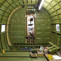 16 Forward bulkheads installed