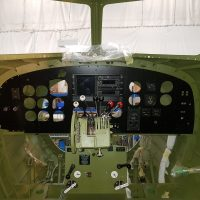 The new instrument panel installed